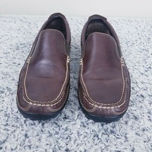 COLE HAAN Brown Size 10.5 M Men Loafers slip on